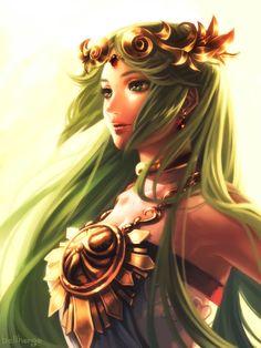 Goddess Palutena by bellhenge.deviantart.com on @deviantART #Palutena #Nintendo