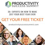 ★ The Productivity Success Summit starts in just 5 days!  have you reserved your ticket yet?  https://rk285.isrefer.com/go/pss-main/freeticket839  It's FREE to attend and all online.