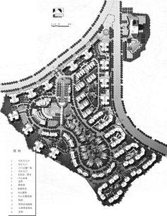 图3-1-1 某居住小区规划方案
