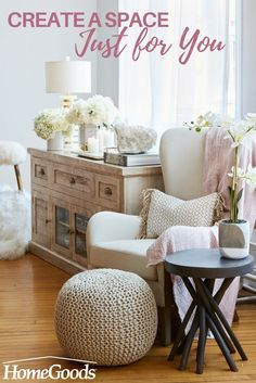 Creating a cozy, relaxing space in your bedroom or any room in your home is the perfect way for daily pampering or to sip your morning coffee. Read more on our blog on how create a space that's just for you.