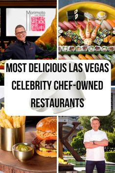 Looking for the best of the best when it comes to Las Vegas restaurants? Tired of the same fast food burger joint? For places that'll satisfy your appetite and enhance your experience in Sin City, check out these celebrity chef-owned restaurants! Las Vegas Eats, Las Vegas Food, Las Vegas Restaurants, Vegas Fun, Las Vegas Hotels, Gordon Ramsay Restaurant Vegas, Gordon Ramsay Restaurants, Gordon Ramsay Las Vegas, Las Vegas Airport