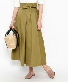 【ZOZOTOWN|送料無料】anatelier(アナトリエ)のスカート「リネン混ウエストリボンスカート」(528-72903-2017-01)を購入できます。