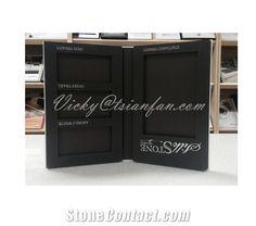 PY001 EVA+Cardboard stone sample binder/stone sample brouche