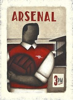 Arsenal Poster by Paine Proffit