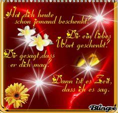 .... für dich mein Mäuschen!! Have a nice Day!!