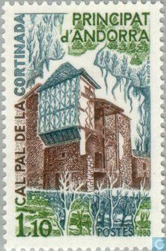 Andorra - French - Landscapes 1980