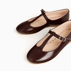T-BAR BALLERINAS-View all-SHOES-GIRL | 4-14 years-KIDS | ZARA United States