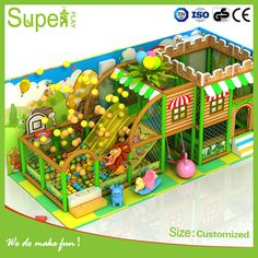 Large Forest Themed Children's Playground Toy Equipment