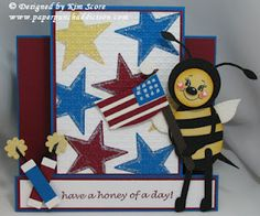 patriotic bee