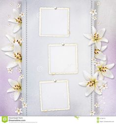 free wedding backgrounds /frames | Wedding background with flowers, frames for congratulations and ...