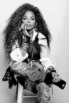 Janet Jackson photo shoot behind-the-scenes of album cover