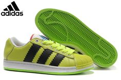 wholesale dealer 54187 0238a Men s Women s Adidas Originals Ultra Stars Casual Shoes Electric  Green Black G61590,Adidas