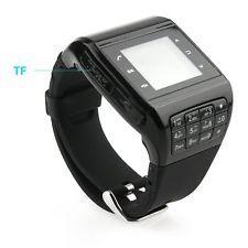 Dual SIM Touch Screen Keyboard Bluetooth Smart Watch Smartphone Hidden Camera | eBay