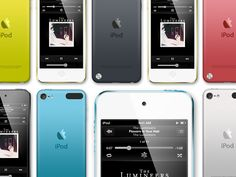 Ipod Touch PSD Template by Will Phillips Jr