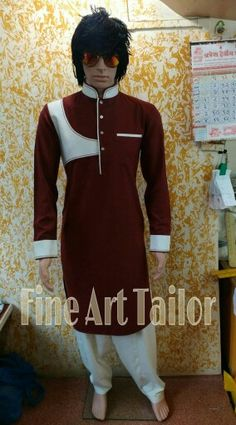 Pathani Suit Men, Pathani Kurta, Mens Shalwar Kameez, Kurta Men, Plain Kurti Designs, Kurta Designs, Suit Fashion, Mens Fashion, Gents Kurta Design