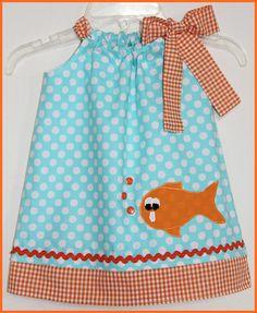 Goldfish Pillow dress