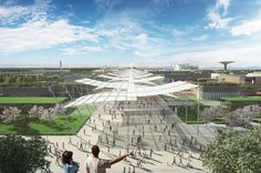 Expo Milano 2015 in Rho, Lombardia