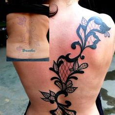 lace tattoo cover up - Amazing site and an astonishing 30,000 #tattoo designs to choose from and all unique at http://tattoo-qm50hycs.canitrustthis.com
