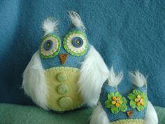 Owl Nursery Decor Woodland Owls Woodland by TBouchardCreations, $80.00