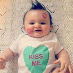 Candy Heart Kisses! bemine #belabumbum