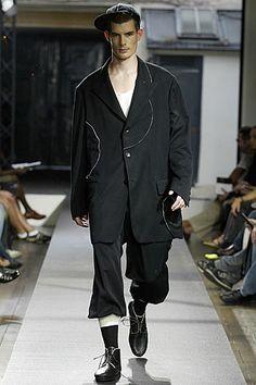 Yohji Yamamoto | Spring 2006 Menswear Collection