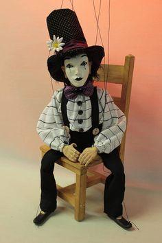 marionette Mimo1 marioneta puppet ooak artdoll títere