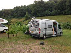Trier camperplek bij wijnboer