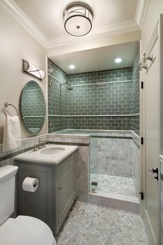 First Place, Small-Medium Bathroom Design by TRG Architects