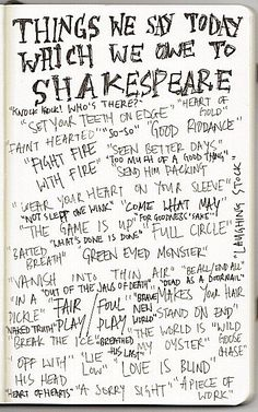 Reason number 10765 why we should teach Shakespeare in schools.