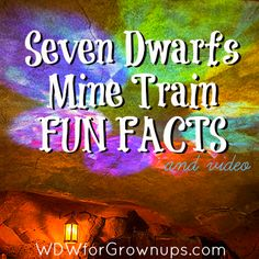 Fun Facts About Seven Dwarfs Mine Train in New Fantasyland #Disney #WDW #NewFantasyland
