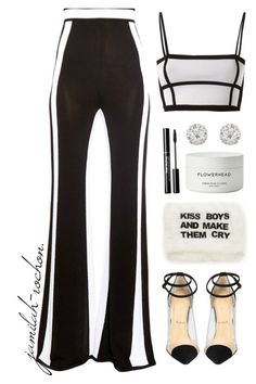 01.02.17 | KissBoys&MakeThemCry by jamilah-rochon on Polyvore featuring polyvore fashion style Balmain Accessorize Byredo MUA MUA Christian Louboutin clothing