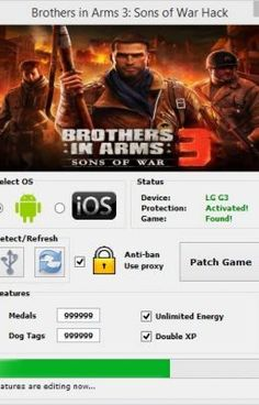 """Read """"Brothers in Arms 3 Sons of War Hack Tool Unlimited Medals - How to Hack Brothers in Arms 3 Medals Cheats Dog Tags."""" #wattpad #historyczne"""
