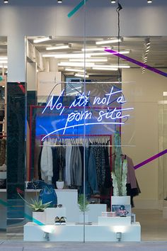 It's Finally Here! Go Inside Nasty Gal's New Store #refinery29  http://www.refinery29.com/2014/11/78422/nasty-gal-store-opening#slide12