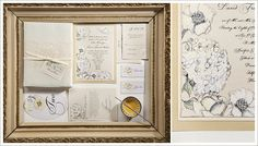Embellished Floral Wedding Stationery by Momental Designs - Adorned Blooms 5 Love Momental Designs!
