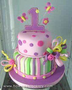 Baby Girl 1st Birthday