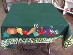 toalha mesa patchwork