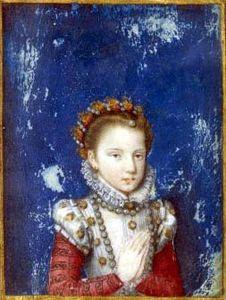 Infanta Catalina Micaela, Isabella Clara Eugenia's sister.