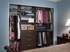 Closet Organizing Ideas with bedroom