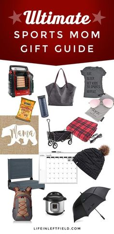 Sports Mom Gift Guide - Find budget friendly gift ideas for mom with this curated list. Check this out if you need a great gift idea for mom. Baseball Mom, Football Moms, Softball, Soccer, America's Favorite Pastime, Gifts For Mom, Great Gifts, Baseball Tournament, Team Mom
