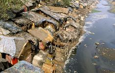 A slum known as 'City of Joy'. Calcutta, India. Slums are a reality in India, but there is beauty to be found; when you look passed the garbage.