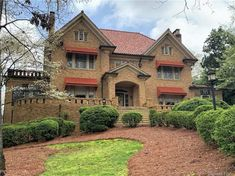 1928 - Albemarle, NC - $349,000 - Old House Dreams Old Houses For Sale, Landscape Plans, Garden Club, Grand Staircase, Old House Dreams, Historic Homes, House Tours, Beautiful Homes, House Plans