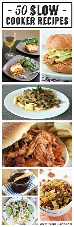 50 Amazing Slow Cooker Recipes   Make your dinner easy with this collection of recipes to make in your crock pot.