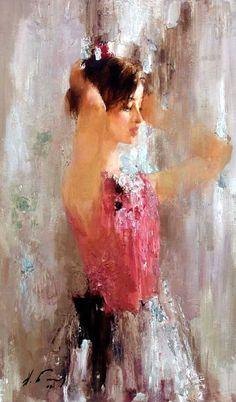 Nikolay Blokhin - Portrait - Painting