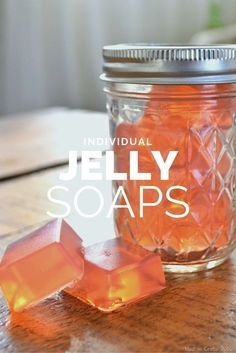 Individual Jelly Soaps
