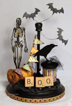 Killam Creative: Halloween Spool Project
