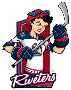 This season, our good friend Eric Poole (EPoole88) has expanded his repertoire to include the new National Women's Hockey League teams. This is the New York Riveters.