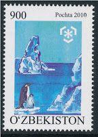 Uzbekistan Stamps   International Polar Year Stamps – Uzbekistan 2010