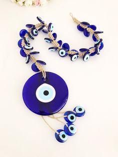 Hi Quality GREEK EVIL EYE Lash Genuine Stainless Steel chain Baby Blue bracelet adjustable hamsa nazar Greece Silver tone mati beads