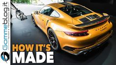 2018 Porsche 911 Turbo S Exclusive Series 607 HP - CAR FACTORY PRODUCTION