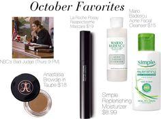 October Loves  http://www.klassykalifornian.blogspot.com/2014/10/october-lusts.html